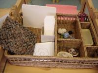 Корзиночка для шитья и вышивания